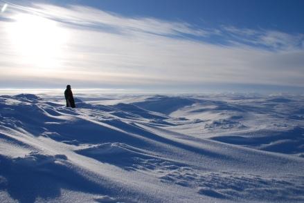 Unendliche Weiten prägen das finnische Lappland.