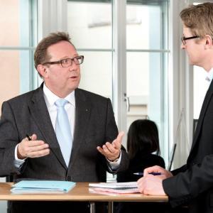Verwaltungsratspräsident der Greater Zurich Area: Balz Hösly.