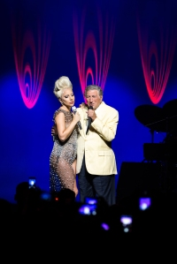 Tony Bennett & Lady Gaga at the 49th Montreux Jazz Festival, (c) 2015 FFJM-Marc Ducrest